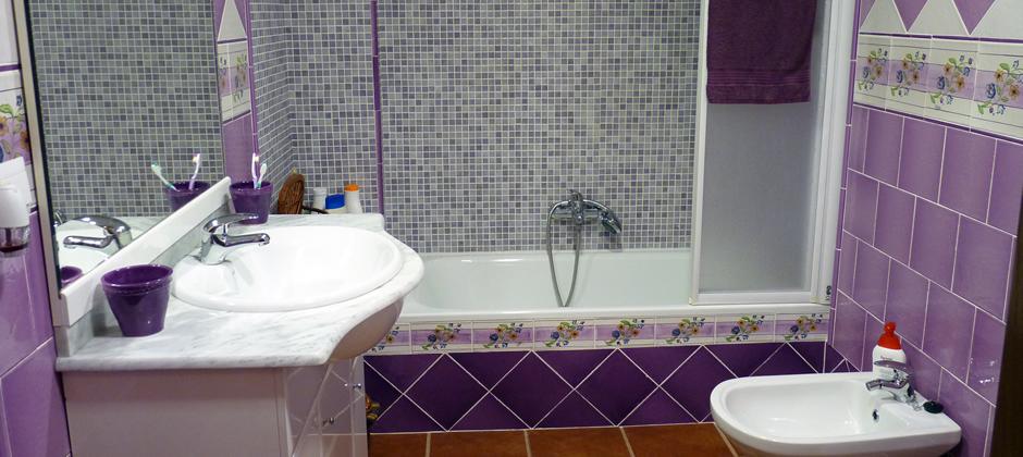 Baños Con Azulejos Rosas:Azulejos de Baño Artesanales