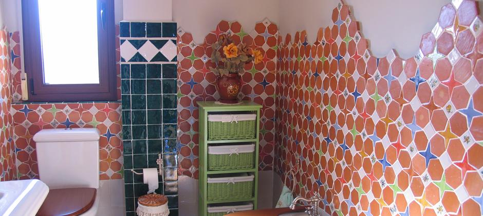 Azulejos de ba o artesanales xavier claur galer a de for Azulejos artesanales